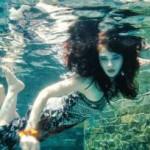 Friday Magazine - Modern mermaid: Underwater fashion shoot