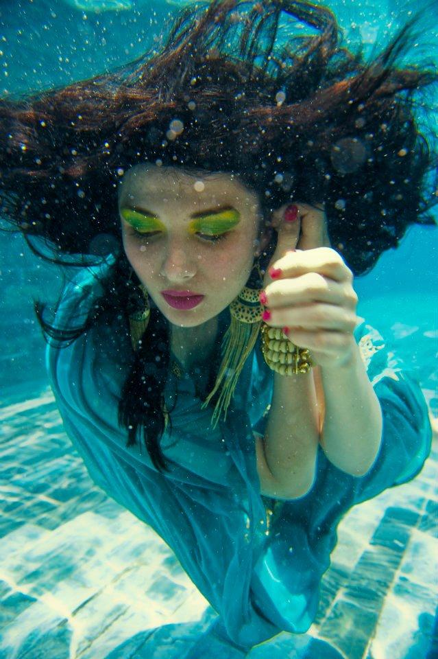 Splash Underwater shoot Friday Magazine