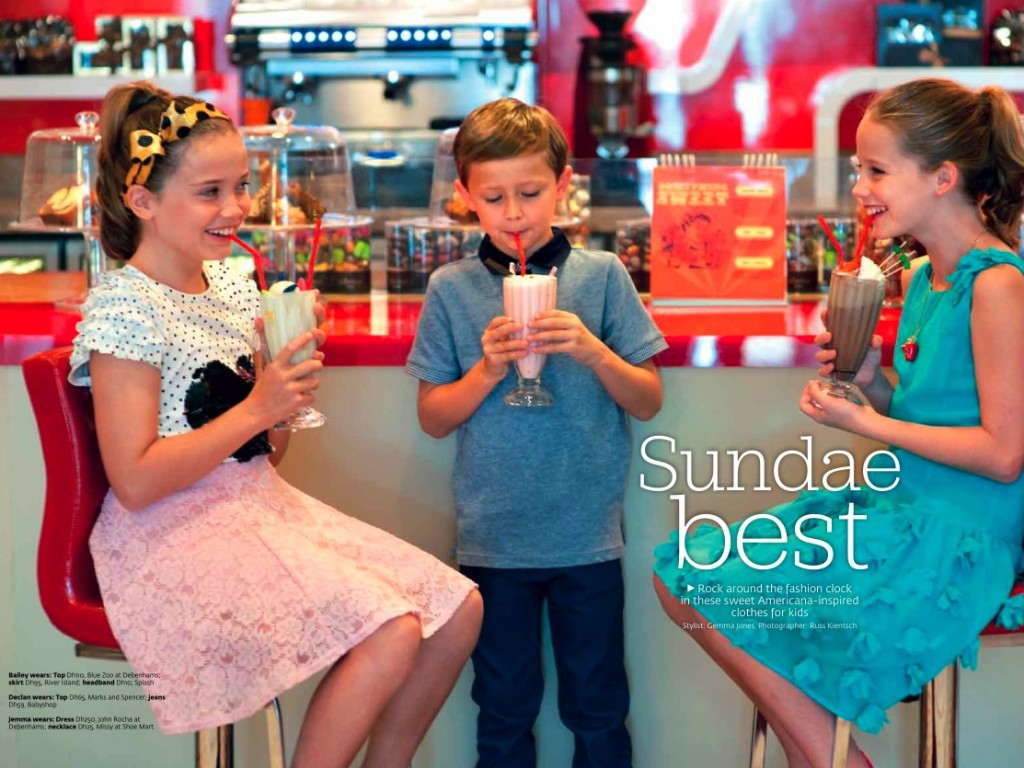 Sundae Best shoot Friday magazine