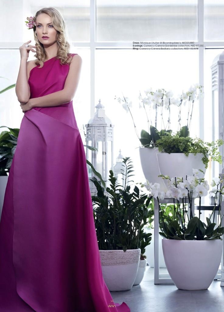 Ego Magazine Michelle Waldron Dubai UAE Makeup Artist